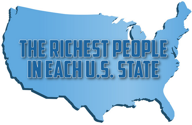 the richest people in each US state